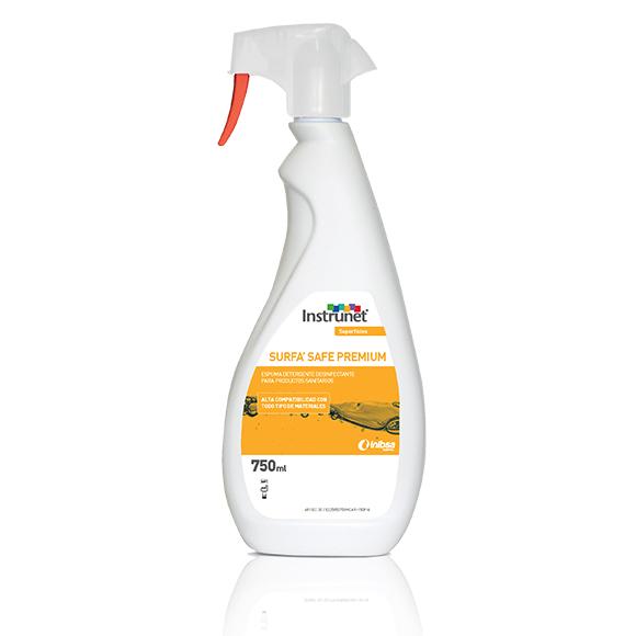 Instrunet® Surfa'Safe Premium, nueva espuma detergente desinfectante para superficies, con mayor adherencia