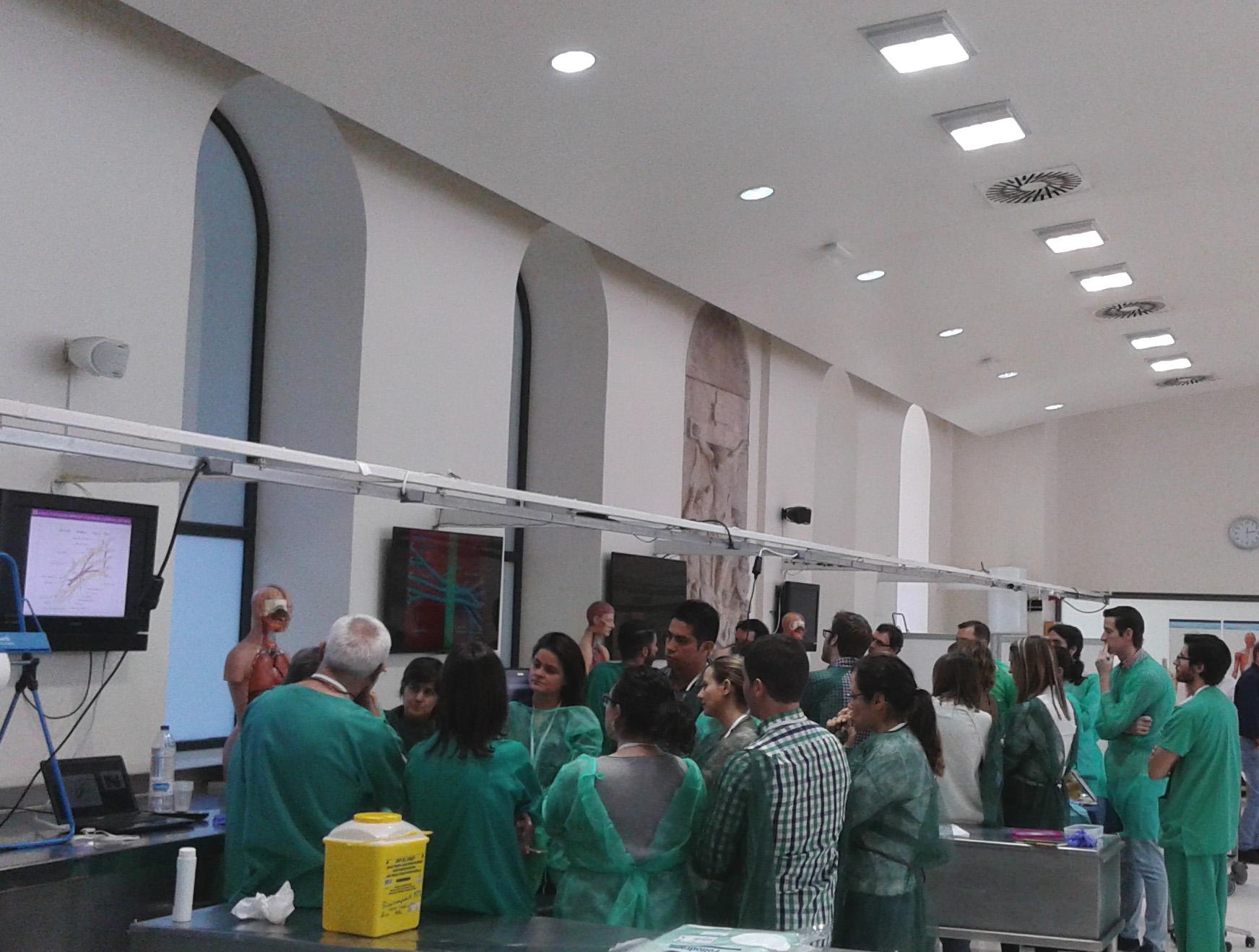 Nueva formación en anestesia regional en Valencia