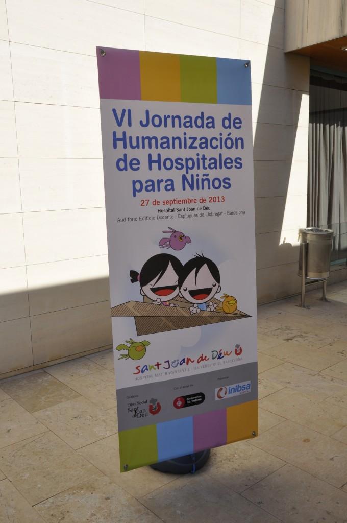 Inibsa Hospital en la VI Jornada de Humanización de Hospitales para Niños en el Hospital Sant Joan de Déu